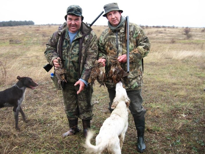 chasseurs chiens becasse sejour chasse bulgarie becasse